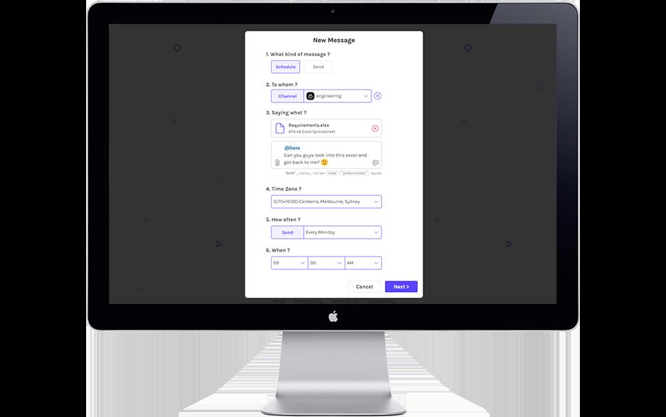 Timy web app